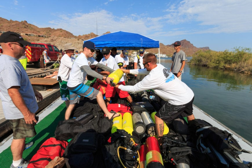River Scene Magazine Dive Rescue Seminar 2016