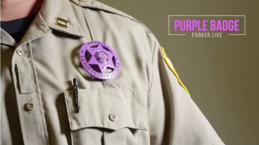 WATCH: Purple Badge: Parker school principal tells story of domestic violence